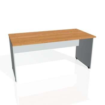 Psací stůl Hobis GATE GS 1600, olše/šedá