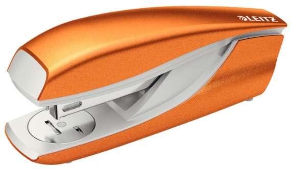 Sešívačka LEITZ NeXXt 5502 WOW - metalická oranžová