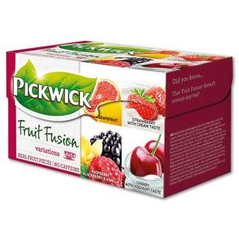 Variace čajů Pickwick Fruit Garden - Červené s višní, 20 x 2 g