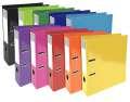 Plastový pákový pořadač Iderama A4, barev.mix, 10 ks