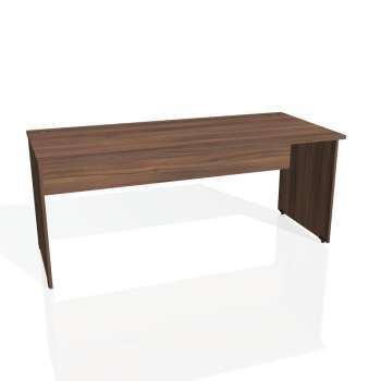 Psací stůl Hobis GATE GS 1800, ořech/ořech