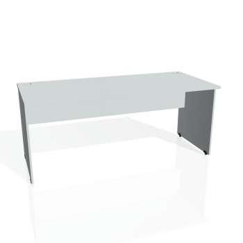 Psací stůl Hobis GATE GS 1800, šedá/šedá
