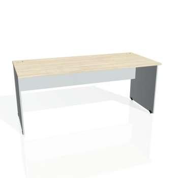 Psací stůl Hobis GATE GS 1800, akát/šedá