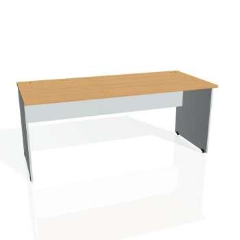 Psací stůl Hobis GATE GS 1800, buk/šedá