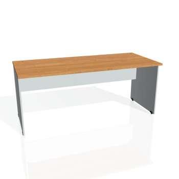 Psací stůl Hobis GATE GS 1800, olše/šedá