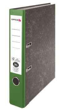 Pákový pořadač Niceday - A4, kartonový, zelená 5 cm hřbet