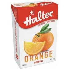 Bonbóny Halter bez cukru, 40 g (ovocný mix)