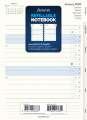 Plánovací kalendář do Filofax Notebook, měsíční