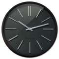 Nástěnné hodiny Goma - černé