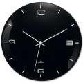 Nástěnné hodiny Eleganta - černé