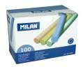 Křídy Milan, mix barev, 100 ks