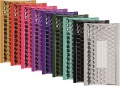Metalické bubl. obálky 210x120mm, 10ks, mix barev