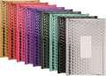 Metalické bubl. obálky 260x180mm, 10ks, mix barev
