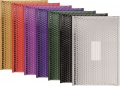 Metalické bubl. obálky 440x300mm, 10ks, mix barev