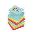 Samolepicí Z-bločky Post-it Super Sticky Miami, 6 ks