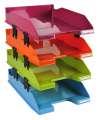 Rozšířitelné zásuvky Exacompta - 4 ks, mix barev