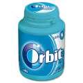 Žvýkačky Orbit Peppermint - modré, dóza, 46 dražé
