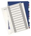 Plastový rozlišovač Leitz Style - A4+, barevný, 1-12