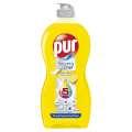 Prostředek na nádobí Pur - lemon, 450 ml