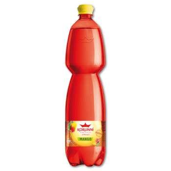 Ochucená minerální voda Korunní - mango, 6x 1,5 l