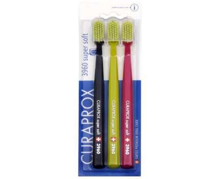 DÁREK: Curaprox extra jemný zubní kartáček 3960 - 3 ks ZDARMA