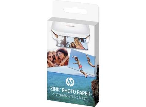 Fotopapíry HP ZINK, 20 ks