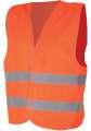 Reflexní vesta ALEX - oranžová, vel. L