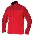 Pánská fleece mikina MICHAEL - červená, vel. L