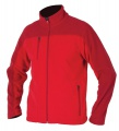 Pánská fleece mikina MICHAEL - červená, vel. S