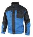 Montérková bunda 4TECH 01 - modrá-černá, vel. 52