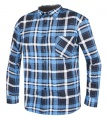 Flanelová pracovní košile JONAH - modrá, vel. 43-44