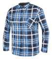 Flanelová pracovní košile JONAH - modrá, vel. 45-46