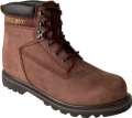 Kožená obuv FARMÁŘKA  HIGH BROWN - vel. 40