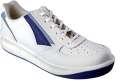 Sportovní kožená obuv PRESTIGE LOW - bílá, vel. 43
