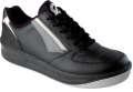 Sportovní kožená obuv PRESTIGE LOW - černá, vel. 44