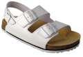 Korkové sandály FENIX - bílá, vel. 46