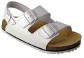 Korkové sandály FENIX - bílá, vel. 47