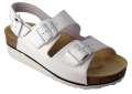 Korkové sandály DORIS - bílá, vel. 40