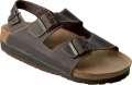 T2_Korkové sandály DORIS - hnědé, vel. 36
