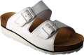 Korkové pantofle FLORA - bílá, vel. 40