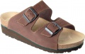 Korkové pantofle FLORA - hnědá, vel. 37