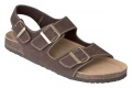 Korkové sandály MERKUR - hnědá, vel. 43