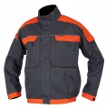 Montérková blůza COOL TREND 106, šedo-oranžová,