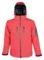 Zimní softshellová bunda SPIRIT WINTER - červená, vel. M