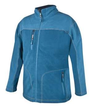 9299ae730c6 Pánská fleece mikina MICHAEL - modrá