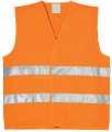 Reflexní vesta ALEX - oranžová, vel. 4XL