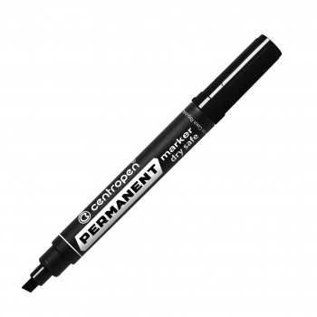 Popisovač perm. Centropen 8516 - černý, 10 ks