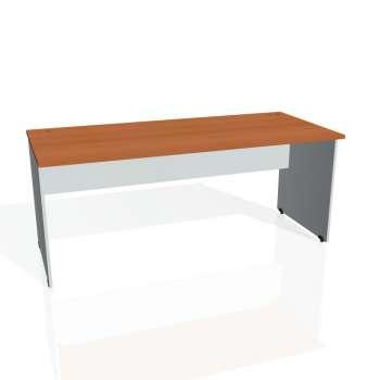 Psací stůl Hobis GATE GS 1800, třešeň/šedá