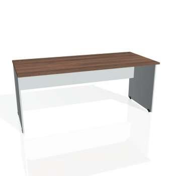 Psací stůl Hobis GATE GS 1800, ořech/šedá