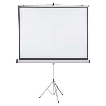 Projekční plátno se stativem Nobo - 150 x 113,8 cm, bílé